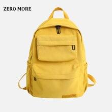 New Waterproof Nylon Backpack for Women Multi Pocket Travel Backpacks Female School Bag Teenage Girls Book Mochilas