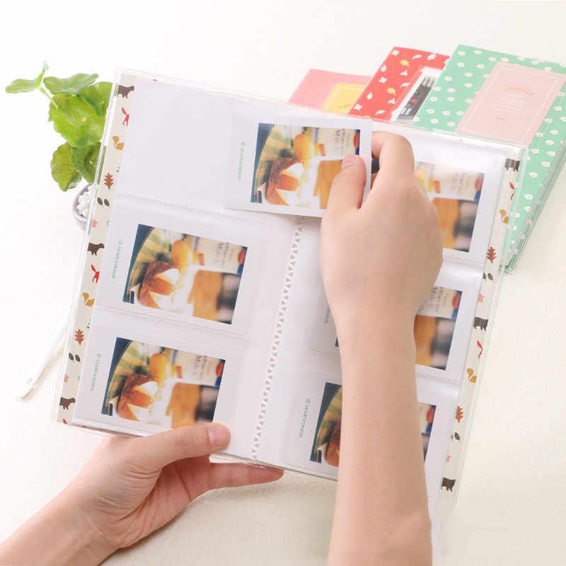 84 Pockets Photo Album For FujiFilm Instax Mini Polaroid Fuji Film Ivory Photo