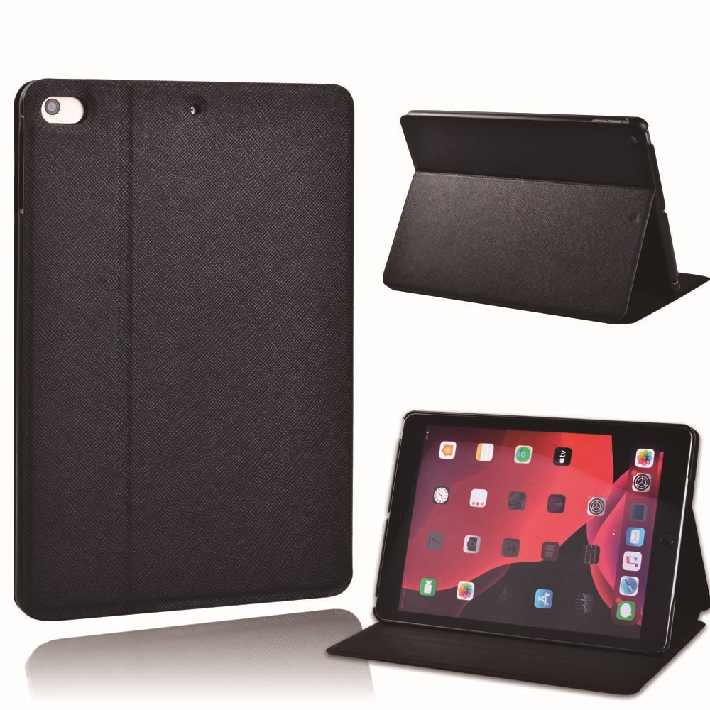black Red For Apple iPad 8 10 2 2020 8th 8 Generation A2428 A2429 PU Printed Star Sign