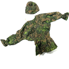 New 1/6 Scale Accessories Clothes Woodland Green Camo Soldier Uniforms set For 1