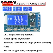 PP2 PWM pulse number frequency duty cycle adjustable Signal generator module LCD Display pwm board 1 channel signal generator pwm pulse frequency duty cycle adjustable module lcd display 1hz 150khz 3 3v 30v pwm board module