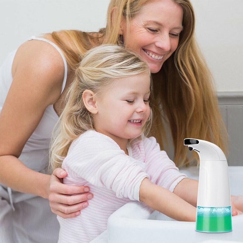 Battery Operated Foaming Automatic Soap Dispenser 8.5oz/250ml Hands Free Sensor JA55