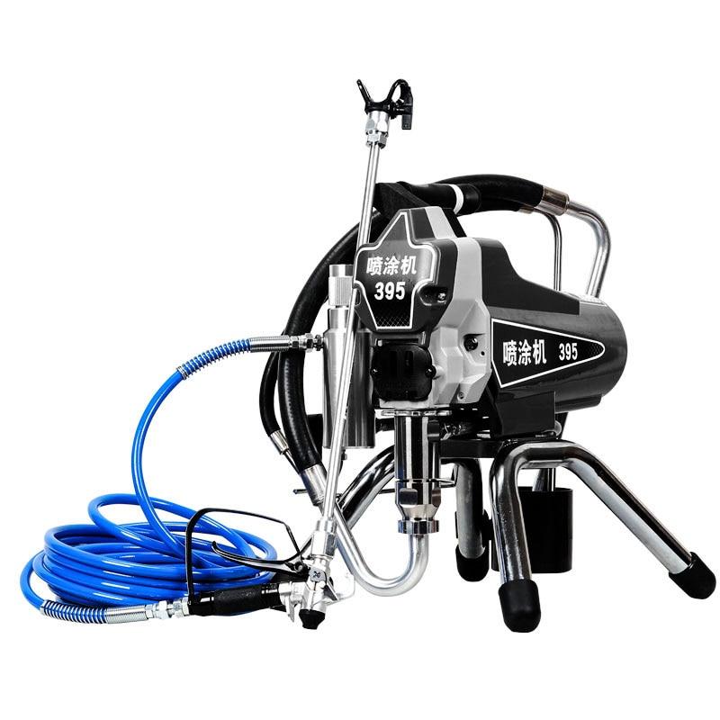 Professional Airless Spraying Machine Professional Airless Spray Gun 2200W 2.2L Airless Paint Sprayer Painting Machine Tool