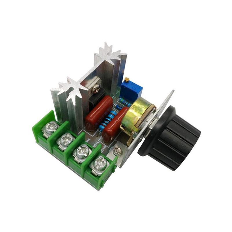 AC 220 V 2000 W SCR Voltage Regulator Dimming Dimmers Motor Speed Control Thermostat Controller Voltage Regulator Module