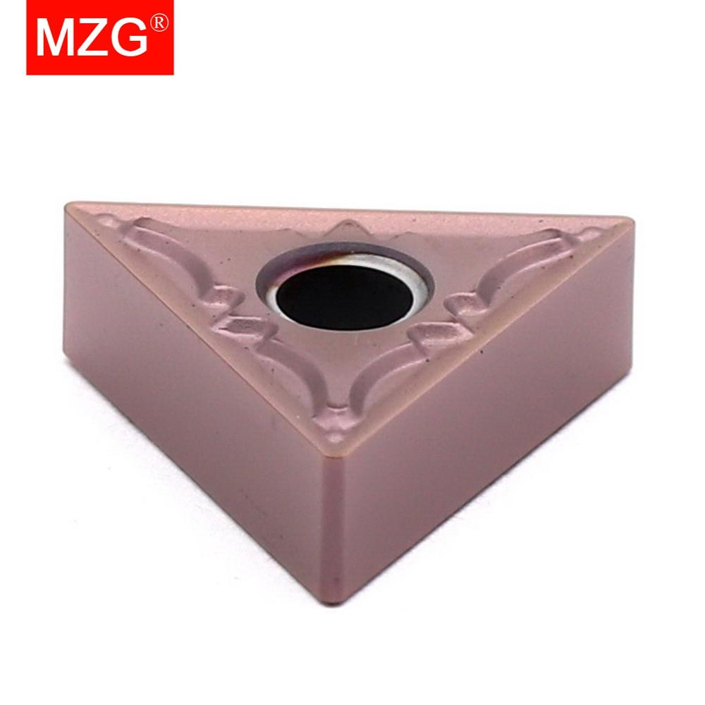 Купить с кэшбэком MZG TNMG160404 TNMG160408 PM ZP1521 CNC Cutting Lathe Turning Boring Carbide Insert for Stainless Steel MTJN MTFN MTUN Holder