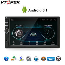 "Android 8,1 Car Radio navegación GPS Wifi 7 ""178*102mm 2din reproductor Multimedia Audio para Nissan TOYOTA Kia RAV4 Honda VW Hyundai(China)"
