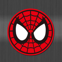 A0641 Spider Man Mark Koffer Waterdichte Sticker Voor Kids Laptop Bagage Koelkast Telefoon Graffiti Notebook Skateboard Stickers(China)