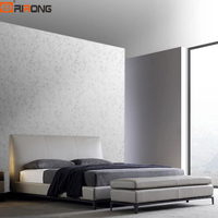 Italy Design Modern Simplicity Style Bedroom Furniture Beds Leather Grey Bed Set