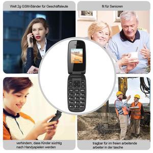 Image 5 - ロック解除機能携帯電話シニア子供ミニフリップ電話ロシアキーパッド 2 グラムgsmプッシュボタンキー携帯電話