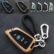 Стильный металлический чехол брелок для ключей bmw x1 x3 x4