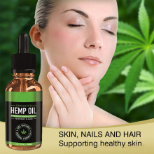 30ml Organic Herbal Essential Oil Bio-active Hemp Oil Drops  Body Relieve Stress Oil Skin Care Help Sleep TSLM2