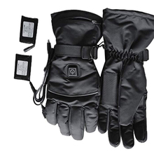 1 Pair Electric Heating Gloves Thermal Heated Gloves Five-Finger Winter Hand Warmer Ski Gloves For Men Women High Quality все цены