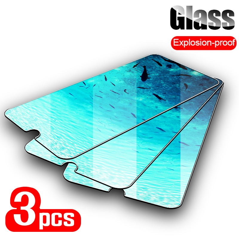 3PCS Screen Protector For BV8000 S8 P10000 <font><b>Pro</b></font> BV9500 Plus BV97000 Tempered Glass For <font><b>Blackview</b></font> P2 R6 Lite <font><b>P6000</b></font> E7 Glass Film image