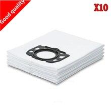 10 adet filtre torbaları için yedek parçalar Karcher MV4 MV5 MV6 WD4 WD5 WD6 Karcher için WD4000 to WD5999