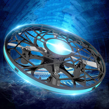 Anti-collision Mini UFO RC Hand drone Infraed flying Helicopter 830 Rotate Sensi