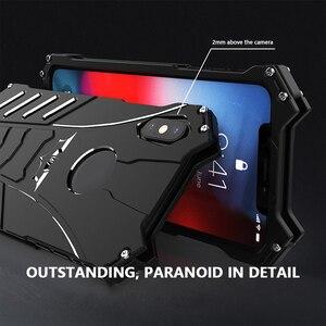 Image 5 - R JUST Batman étui antichoc pour Iphone 11 Pro 12 Mini Max Xr Xs Max 7 8 Samsung S10 S9 Plus housse de luxe en Aluminium en métal