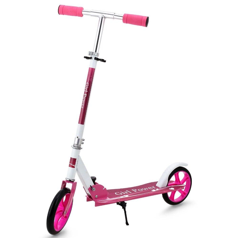 Nouveau Kick Scooter réglable en hauteur pied Scooters Triciclo Trottinette Enfant enfants Scooters
