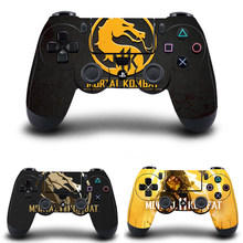 Mortal Kombat 11 Stickers,PS4 Controller Skin Vinyl Decal Sticker Cover for Sony PlayStation 4 DualShock 4 Wireless Controller(China)