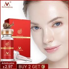 High Quality Snail100% Essence Hyaluronic Acid Liquid Whitening Spot Essence Shrink Pores Ampoule Anti acne Regenerative Essence