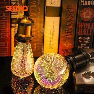 3D Decoration Led Bulb E27 220