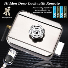 Gate-Opener Battery Door-Lock RFID Remote Hidden Lock-Key Driven Home-Access-Control