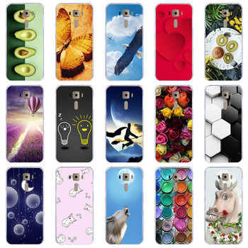 Lamocase Case For Asus ZenFone 3 ZE520KL Z017DA ZE ZE520 520 520KL KL Cute Cartoon Animal Painted Cover image