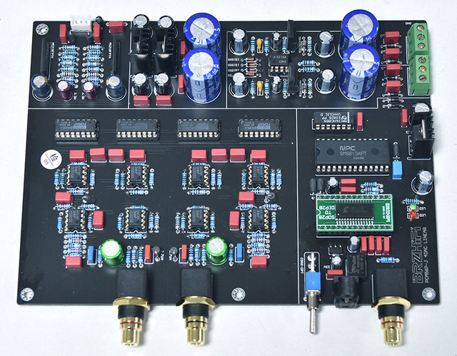 Clear and transparent sound surpasses TDA1541s PCM56 dual parallel classic fever decoder board