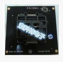 QFP64 burner/test stand CX3011/DX3011