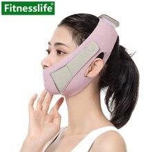 Ремешок для похудения лица уменьшения подбородка v маска наклейки