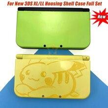 2020 neue Volle Gehäuse Shell Fall Abdeckung Frontplatte Set Reparatur Teil Ersatz für Nintend Neue 3DS XL/LL Mit schraubendreher