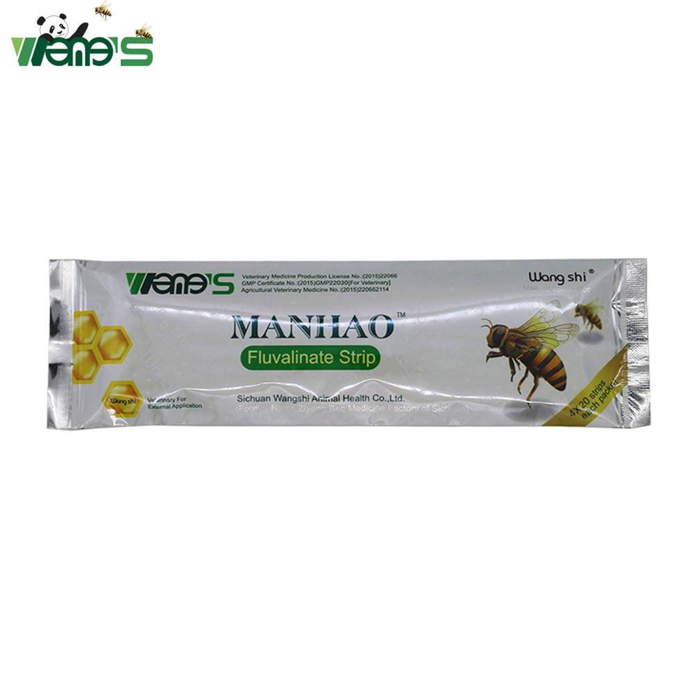 80 Small-Strips Medicine Mite-Control Wangshi Varroa With Powerful Active Manhao