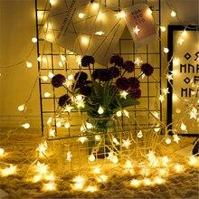 цена на 10M 100 LED New Year Xmas Party Outdoor Decor Fairy String Light Lamp Christmas Tree Decorations Christmas Decorations for Home