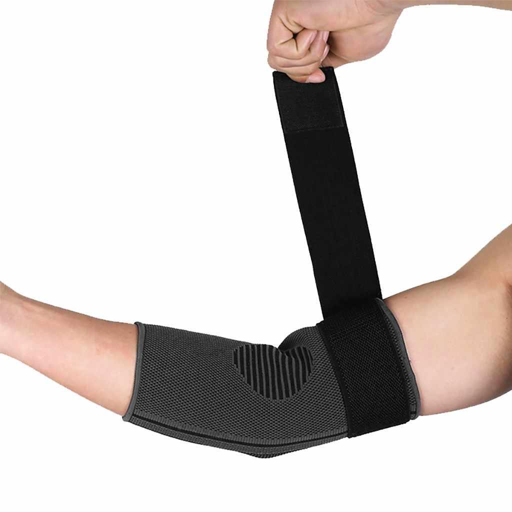 Spor dirsek Brace elastik bandaj sıkıştırma desteği örgü koruyucu bisiklet basketbol kol kol tenis spor coderas