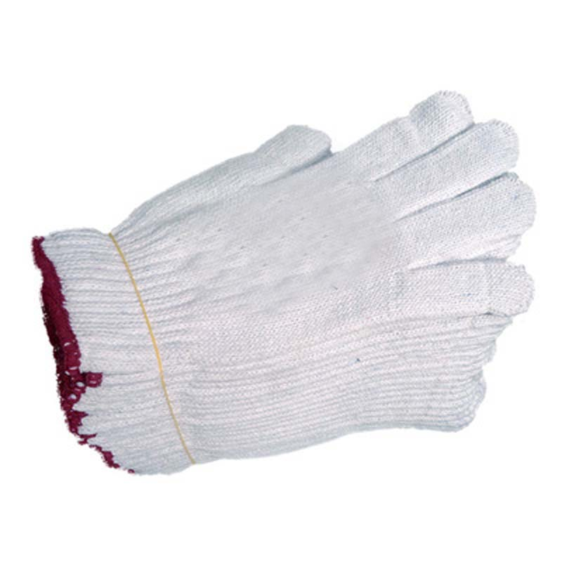 Wear-resistant Non-slip Glue Thickening Site Cotton Work Gloves