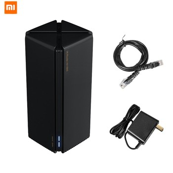 xiaomi mi wifi mini router high security 1167mbps dual bands Newest Xiaomi Router AX1800 Wifi 6 Gigabit 2.4G 5GHz 5-Core Dual-Band Router OFDMA High Gain 2 Antennas Wider Mi Router AX18005G
