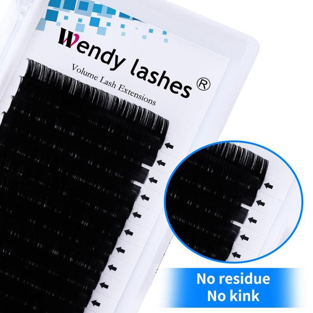 16 Rows Individual Eyelash Extension Faux Mink Eyelashes Thick Natural False Eyelashes Mink Classic Eyelash Extension Cilia 5