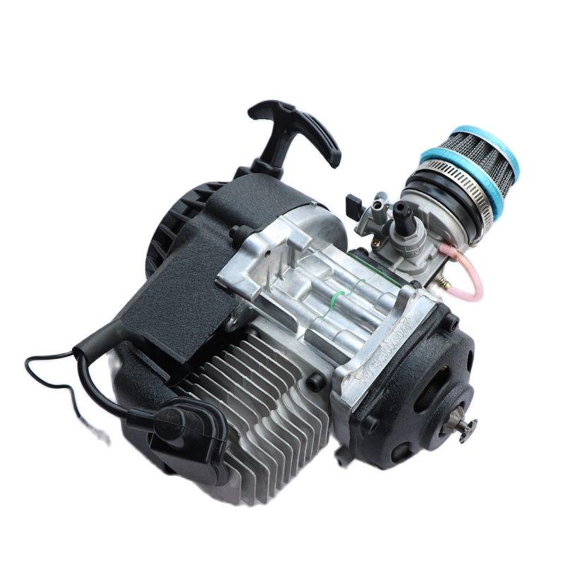 Motorcycle parts 40-6 47cc Pull Start Engine Motor For 2 Stroke Mini Pocket PIT Quad Dirt Bike