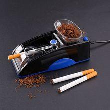 Einfache Automatische Tabak Roll Maschine Für Zigaretten DIY Tabak Injektor Maker Roller Rauchen Werkzeug Gadgets Für Männer Nützlich L * 5