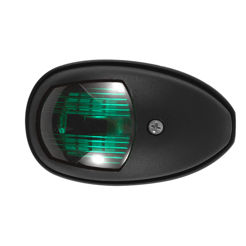 2Pcs/Set 10V-30V Universal ABS LED Navigation Light Signal Warning Lamp Signal Lamp For Marine Boat Yacht Truck Trailer Van 2