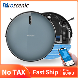 Proscenic 830P 2000PA Robot Vacuum Cleaner with Wet Cleaning Gyroscope Washing vacuum cleaner Home Carpet cleaner Auto Charge