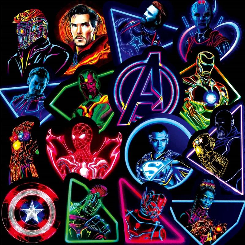 30pcs-neon-font-b-marvel-b-font-super-hero-the-avengers-stickers-skateboard-fridge-phone-guitar-motorcycle-luggage-pvc-waterproof-stickers