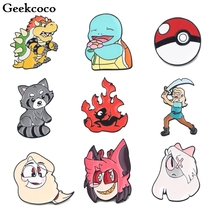 Geekcoco Cute Fashion Enamel Pin Collection Brooches Art Lapel Pins Backpack Badge Collar Jewelry RK0052 geekcoco cute cartoon fashion enamel pin collection brooches art lapel pins backpack badge collar jewelry rk0033