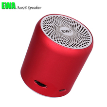EWA A107S bluetooth speakers portable MP3 Music Player Mini Speaker TWS Wireless soundbar metal HIFI Speakers Strong Sound