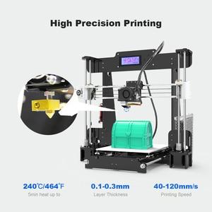 Image 3 - חדש Anet A8 שולחן העבודה DIY 3D מדפסת ערכת Impresora 3D עם מיקרו SD כרטיס USB חיבור