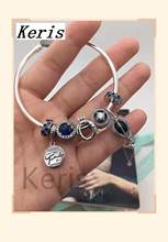 High Quality Reproduction 1:1 100% Silver Crown Hot Air Balloon Pattern Clip-On String Bracelet First Choice For Gift Free Packa(China)