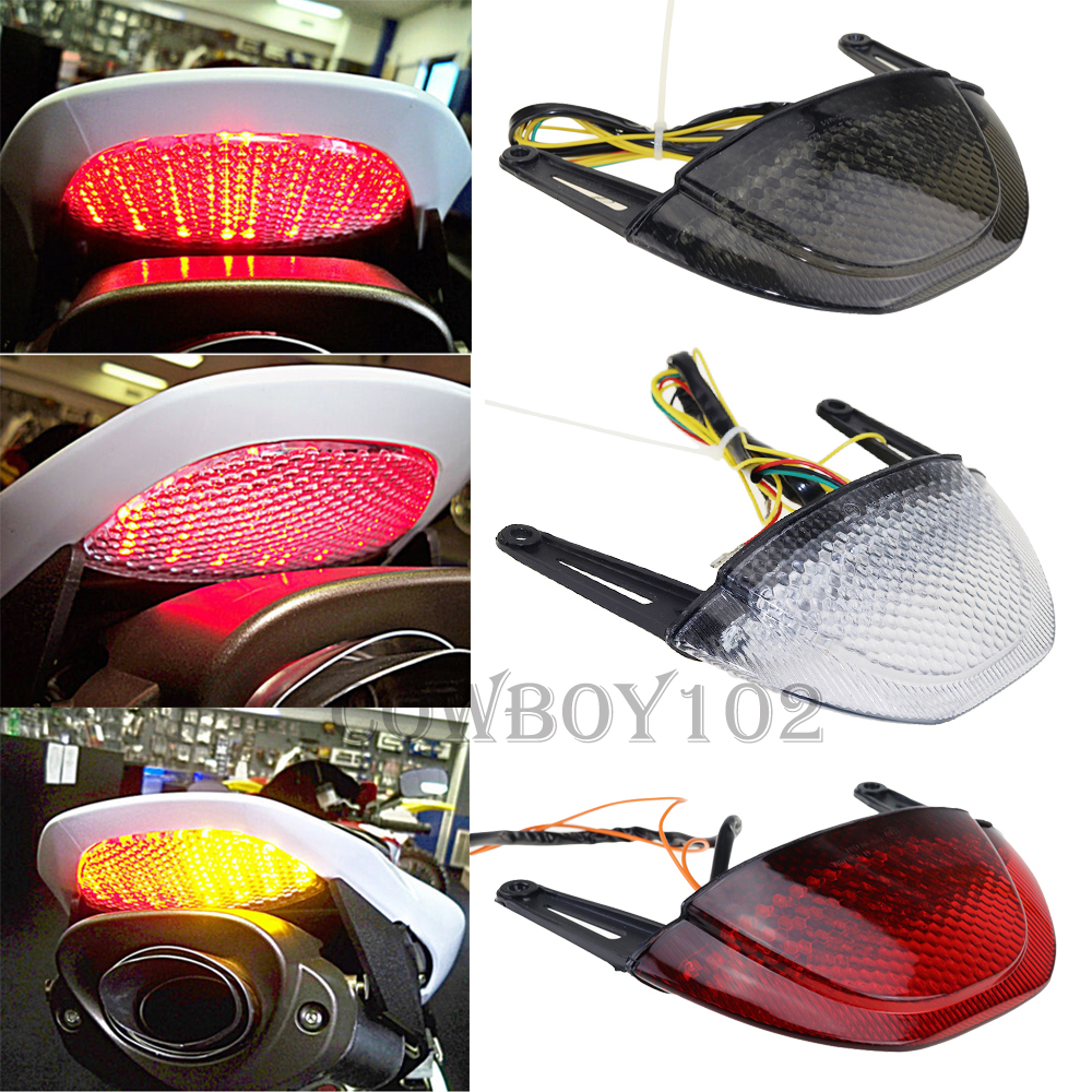 For Honda CBR600RR CBR 600 RR CBR 600RR 2007 2008 2009 2010 2011 2012 Rear Tail Light Brake Turn Signal Integrated LED Taillight