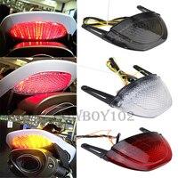 For Honda CBR600RR CBR 600 RR CBR 600RR 2007 2008 2009 2010 2011 2012 Rear Tail Light Brake Turn Signal Integrated LED Taillight