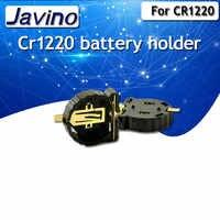 10PCS SMD SMT CR1220 CR1225 BS-1220-2 3V DELLE CELLULE del TASTO SOCKET BATTERY HOLDER CASO BOX