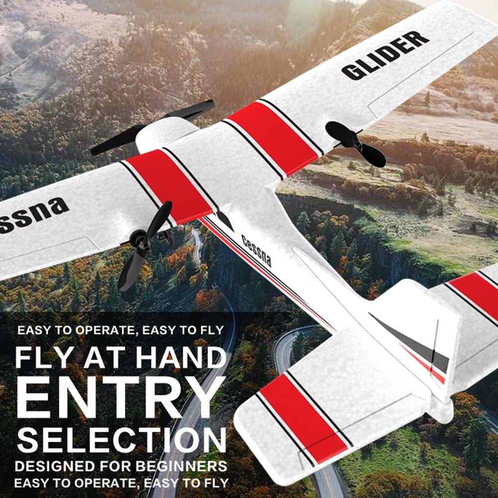 2.4Ghz RC Airplane Flying Aircraft EPP Foam Glider Toy Airplane With Gyroscope Protection Chip Foam Plane Toys Kids Gifts image