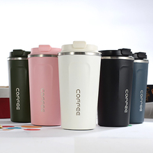 380ml/510ml Stainless Steel Coffee Thermos Mug Portable Car Vacuum Flasks Travel Thermo Cup Water Bottle Thermos cup For Gifts 900ml stainless steel insulated cup with lid double wall vacuum thermos bottle thermos for food travel coffee mug car ice cup